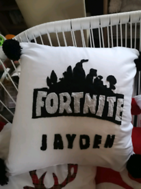 Cushions, gnomes and some Christmas decs