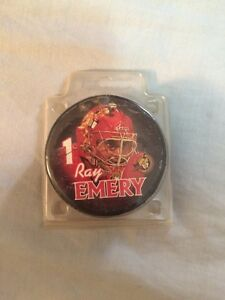 Ray emery hockey puck not signed  Peterborough Peterborough Area image 1