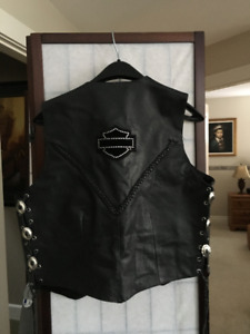 HARLEY DAVIDSON LEATHER VEST
