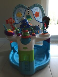 Baby Einstein exersaucer and jolly jumper with musical may