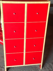 "IKEA ""Robin"" 8 drawer cabinet"