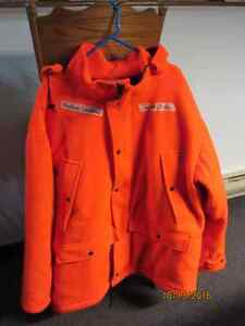 Hunter Orange Insulated Jacket