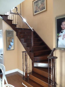 STAIRS NEED AN UPDATED?  GET THE BEST PRICE TODAY! CALL TODAY