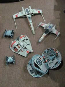 BUNCH OF STAR WARS FIGHTERS ALL SELLING TOGETHER , NEW CONDITION