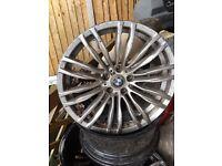 Four 19inch bmw m3 m5 wheels