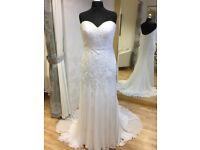 Ellis new lace and chiffon wedding dress 14