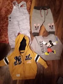 Baby boy 6-9 month clothes bundle