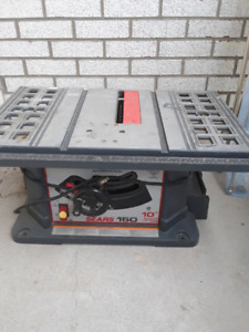 10' table saw
