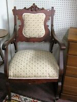 Antique Victorian Side Chair, Great Condition