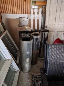 Section de cheminée préfabriqués