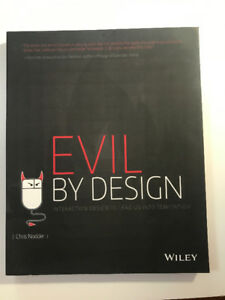 Evil by Design by Chris Nodder UTM book for CCIT