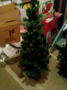 NOMA 4' Indoor/ Outdoor Lighted Potted Porch Tree