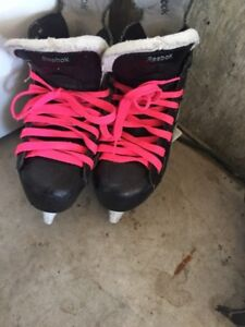 2 Pairs of Skates 1 Youth 1 Adult NIKE and Reebk