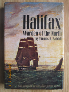 HALIFAX, WARDEN OF THE NORTH 1965 1st USA EDITION