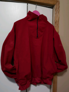 ZERO RESTRICTIONS Red Lightweight Men's L Jacket WINDSTOPPER