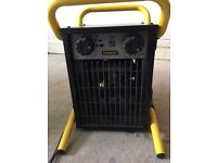 Stanley 2kw industrial heater used for 4 days