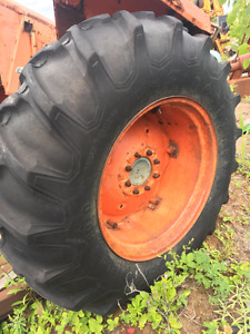 Used tractor tires and rims