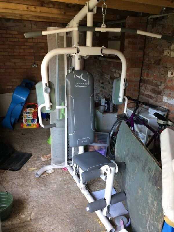 Domyos hg 60 3 multi gym in little lever manchester - Exercice banc de musculation domyos hg 60 ...