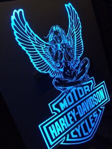 LED lit colour changing Mirrors & signs