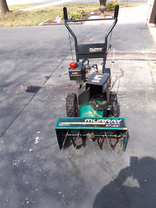 Murray 5hp 2 stage snowthrower