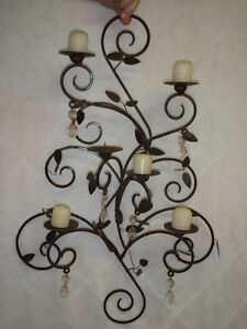 Bougeoir mural / Wall candle holder