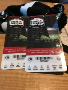 Grey Cup Ticket - $350 pair, I have two sets.
