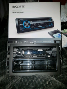 Sony Bluetooth deck car audio sony mex-n4280bt