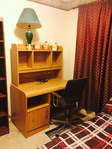 A CLEAN FURNISHED ROOM FOR RENT ASAP !