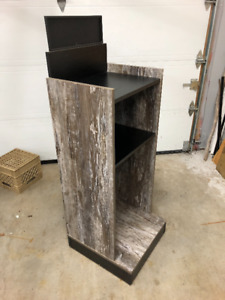 Barn Board Shelving Unit