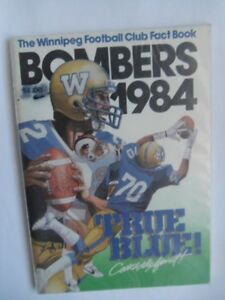 WINNIPEG BLUE BOMBERS-Fact Book/Media Guides.