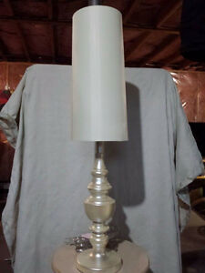 Pair of bedside or buffet lamps