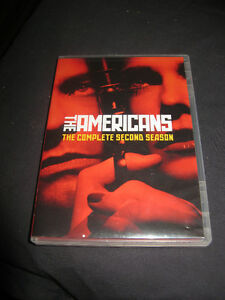 The Americans DVD set the Complete 2nd season