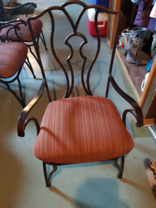 ROD IRON CHAIRS