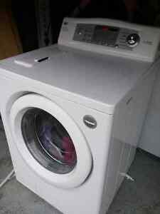 LG front load direct drive washing machine