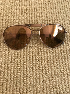 Michael Kors Rose Gold Aviator Sunglasses Mint Condition