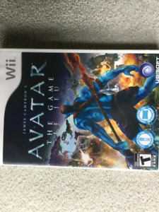 Wii AVATAR - THE GAME