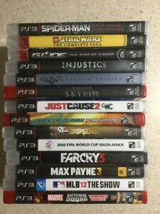 Various PS3 Games - $5.00/each