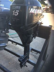 2007 Mercury 15 HP 4 stroke