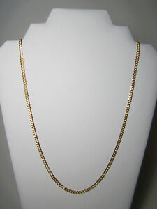 "10k Diamond Cut Curb Cuban Chain (4mm x 26"")"