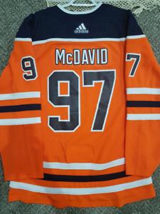Connor mcdavid oilers Adidas jersey