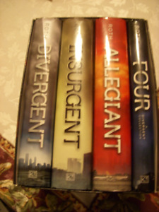 The Divergent series Hardcover books