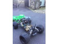 1/5 rc car 26cc need gone quick sale 180 truck buggy