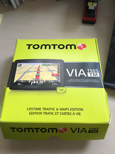 TomTom VIA 1505M 5-Inch Portable GPS Navigator with Lifetime Map
