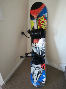 Firefly Snowboard(124cm) & boots Size 23.5