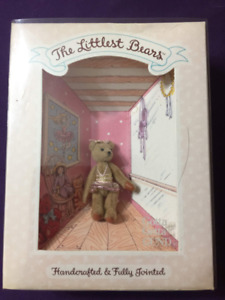 Vintage Gund The littlest bear mini ours peluche