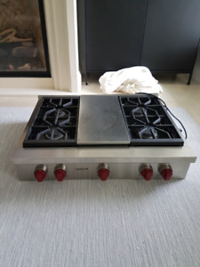 FOR SALE Wolf Gas Cook-Top