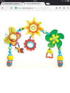 Car seat mobile/play toy