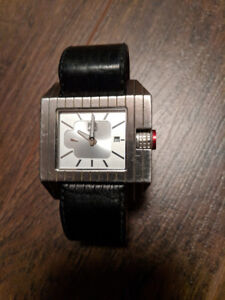 Watches - Quiksilver Baron watch, High River silicon band watch