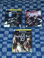 Resident Evil games for Gamecube
