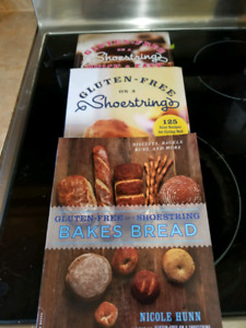 Gluten free on a shoestring (3 books)